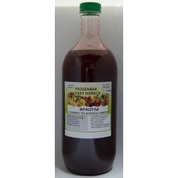 Σιροπι bubble tea φράουλα / 2.5kg
