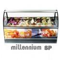 Millenium SP 16 θεσεων - Βιτρινα παγωτου βεβιασμενης ψυξης