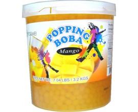 Φρουτενιες περλες bubble tea με γευση mango