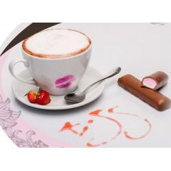Σοκολατα φραουλα Red Velvet KISS / 1kg