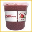 Φρουτενιες περλες bubble tea με γευση cranberry / 3.2kg