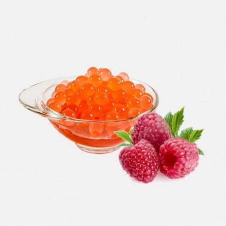 Φρουτενιες περλες bubble tea με γευση raspberry