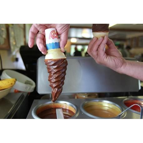 Σοκολατα που παγωνει στο παγωτο