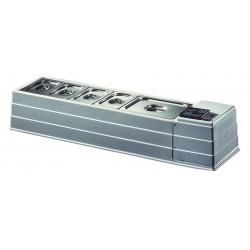 Επιτραπεζιο ψυγειο με 10 GN λεκανακια - MACRO