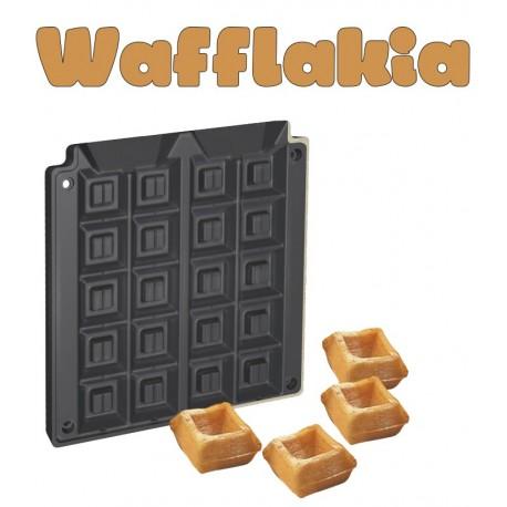 Μηχανημα για Wafflakia - τετραγωνα