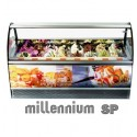 Millenium SP 12 θεσεων - Βιτρινα παγωτου βεβιασμενης ψυξης