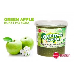 Φρουτενιες περλες bubble tea με γευση πρασινο μηλο / 3.2kg