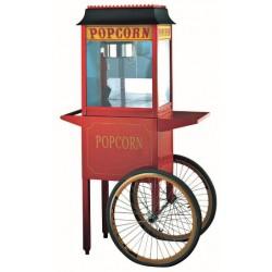 Μηχανη παραγωγης pop corn - Καροτσακι