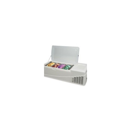 Επιτραπεζια βιτρινα παγωτου με 8 GN λεκανακια - GELATISSIMO F9